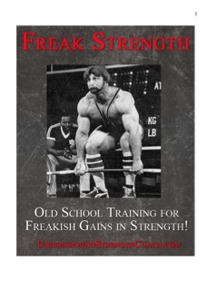 Freak Strength