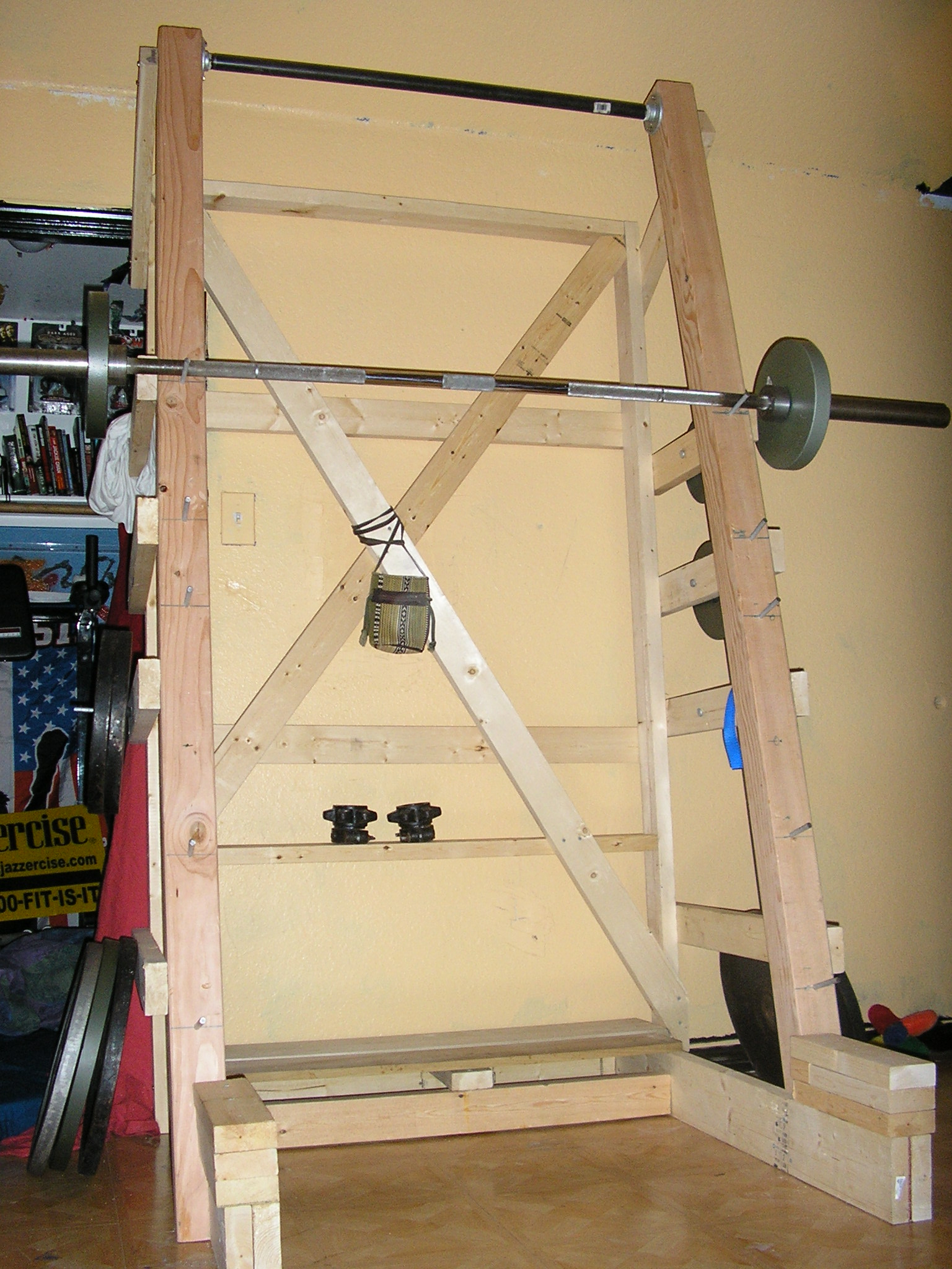 1000 images about homemade fitness equipment on pinterest for A squat rack