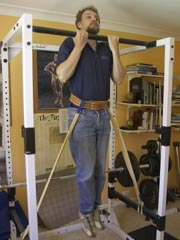 Band resisted chin-up