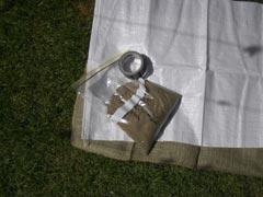 Making Mini Sandbags