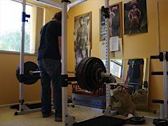 Setting a 40kg PR
