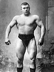 George Hackenschmidt - image via Sandow Plus