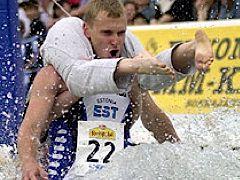 Wife carrying, Estonian style. Photo by Steve Jurvetson.