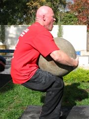Lifting an Atlas Stone
