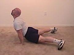 Matt Furey performing Hindu Push-up
