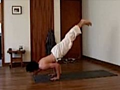 Handstand to Chaturanga