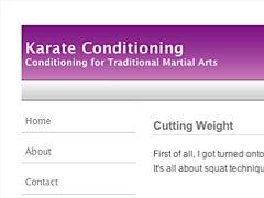 Karate Conditioning