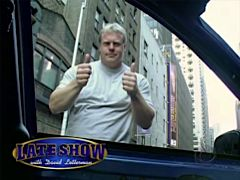 Phil Pfister on Letterman. More of this please.