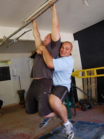 Beyond Strong's Nick and Laurence just hanging around