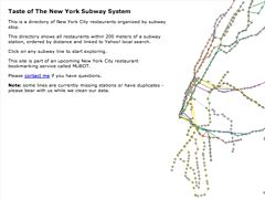 Taste of The New York Subway