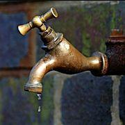 Dripping tap. Photo © 2003 David Rowley.