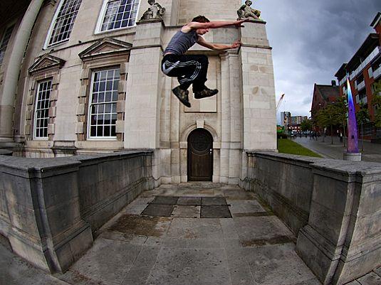 Ben Anderson's Parkour Photography