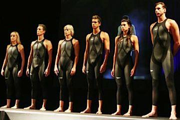 Members of Australian swim team