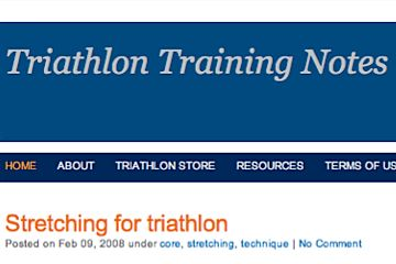 Triathlon Training Notes
