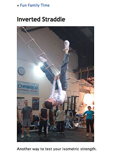 The Inverted Straddle