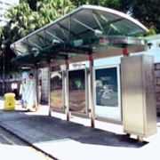 Solar bus shelter, Hong Kong