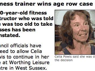 Celia Powis wins