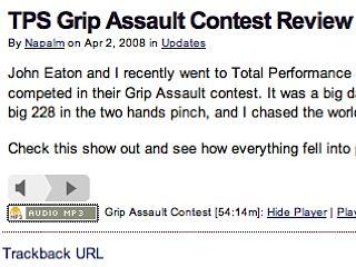TPS Grip Assault Contest Review