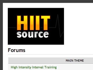 HIIT Source Forums