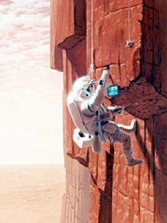 Mountaineering on Mars