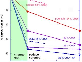 Effect of carbohydrate restriction