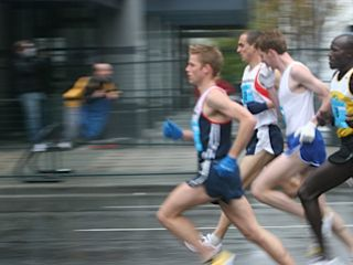 Vancouver Sun Run, April 2005