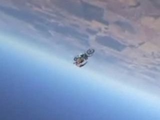 Bike skydiving