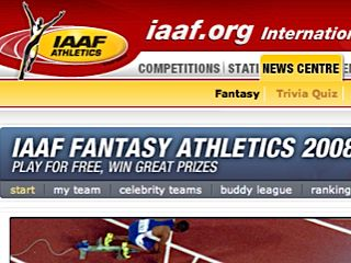 IAAF Fantasy Athletics 2008