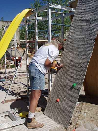 Climbing Wall Construction
