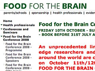 Food for the Brain