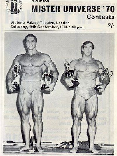 1970 Mr Universe Program
