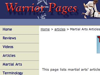 Warrior Pages