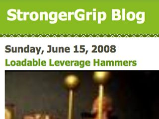 StrongerGrip Blog