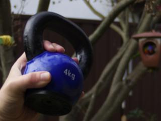 4kg kettlebell