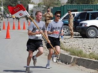 Running in Afghanistan