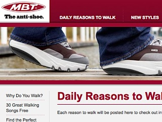 Reasons to walk