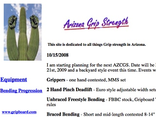 Arizona Grip Strength
