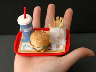 World's Smallest Burger