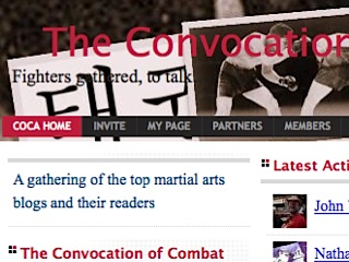 The Convocation of Combat Arts