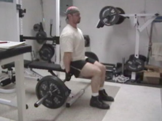 Seated Deadlift