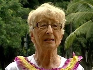 Gladys 'Glady-ator' Burrill