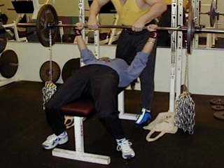 Chain Bench Press