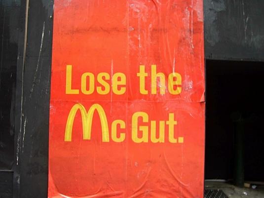 Lose the McGut