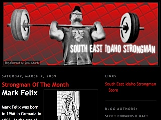 South East Idaho Strongman (SEISM)
