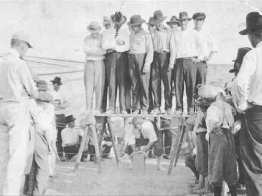 Thomas Jefferson 'Stout' Jackson setting up for backlift