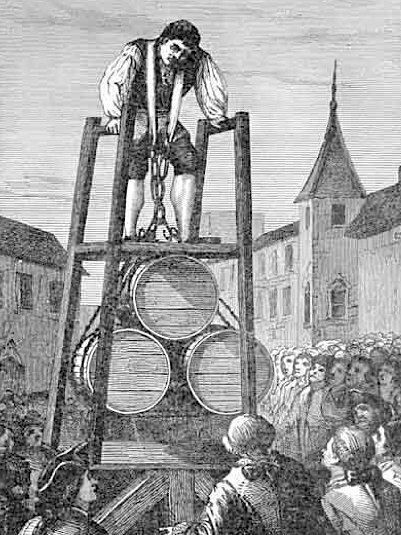 Thomas Topham performing a Harness Lift