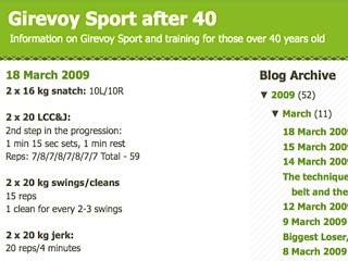 Girevoy Sport After 40
