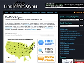 Find MMA Gyms