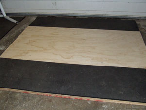 Completed Olympic Weightlifting platform