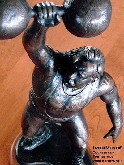 Louis Cyr Statue